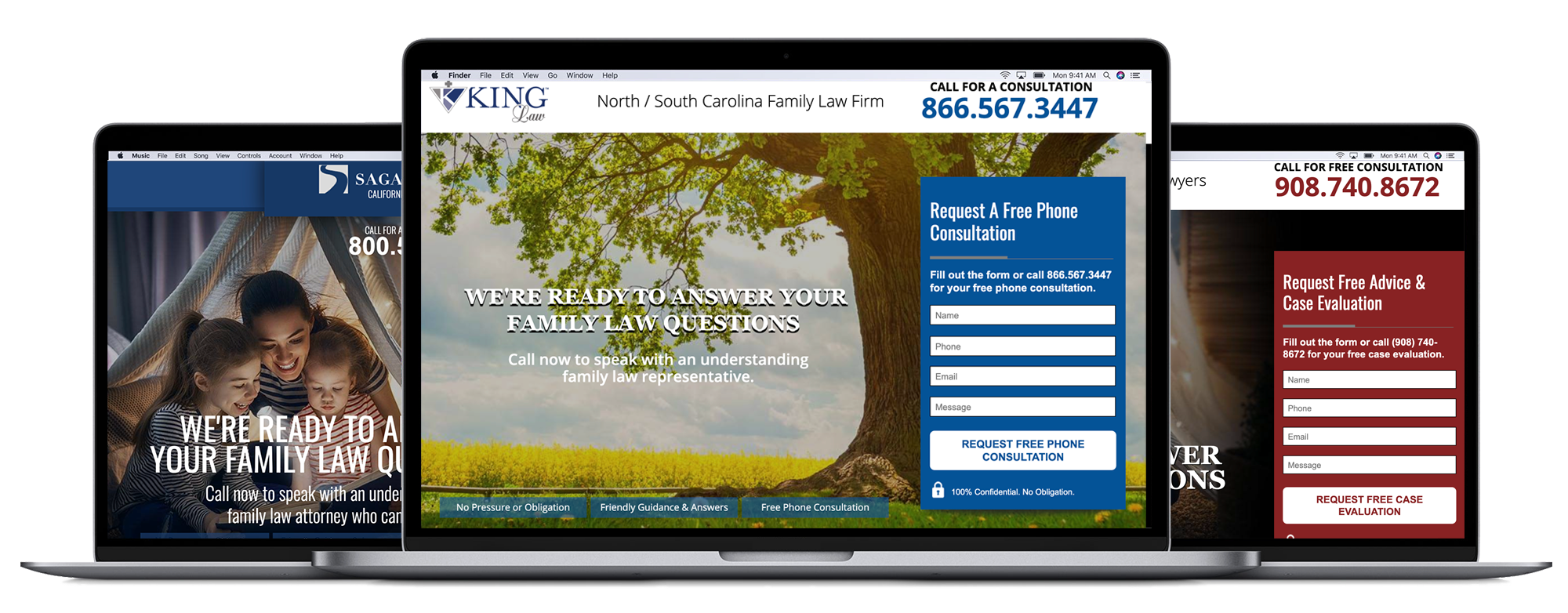 Divorce Lawyer Landing Page